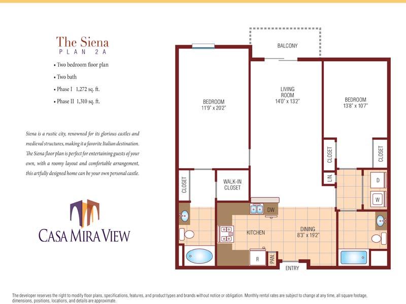 Bedroom Apartments In Mira Mesa